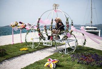 Cvijet Zadra - prva izložba cvijeća u Dalmaciji godinama je bila slikoviti uvod u sezonu